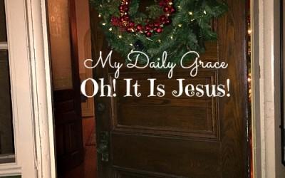 Oh! It Is Jesus!